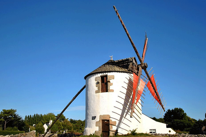 Mill in Erdeven
